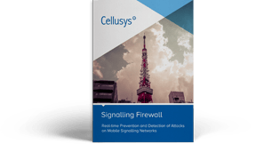 Cellusys Signalling Firewall Data Sheet