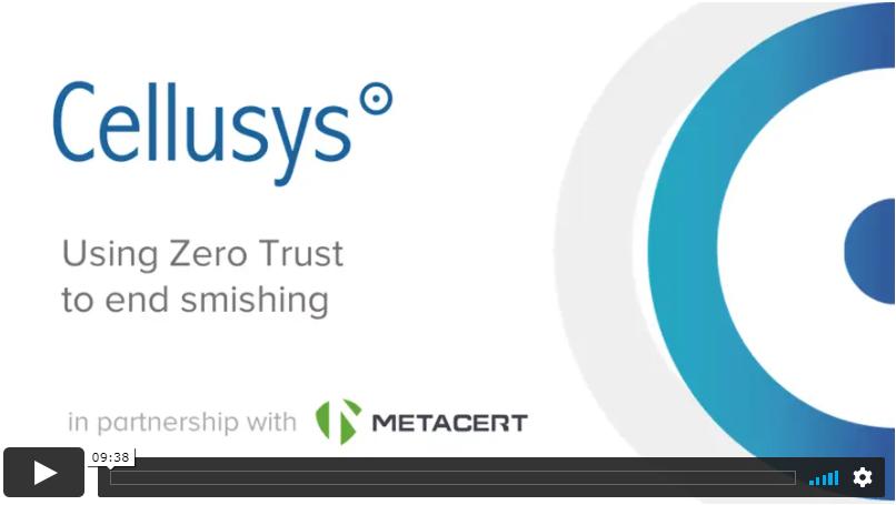 "FLubot solution video ""Using Zero Trust to end smishing"" thumbnail"